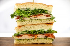 Roasted Lemon and Herb Chicken Sandwich