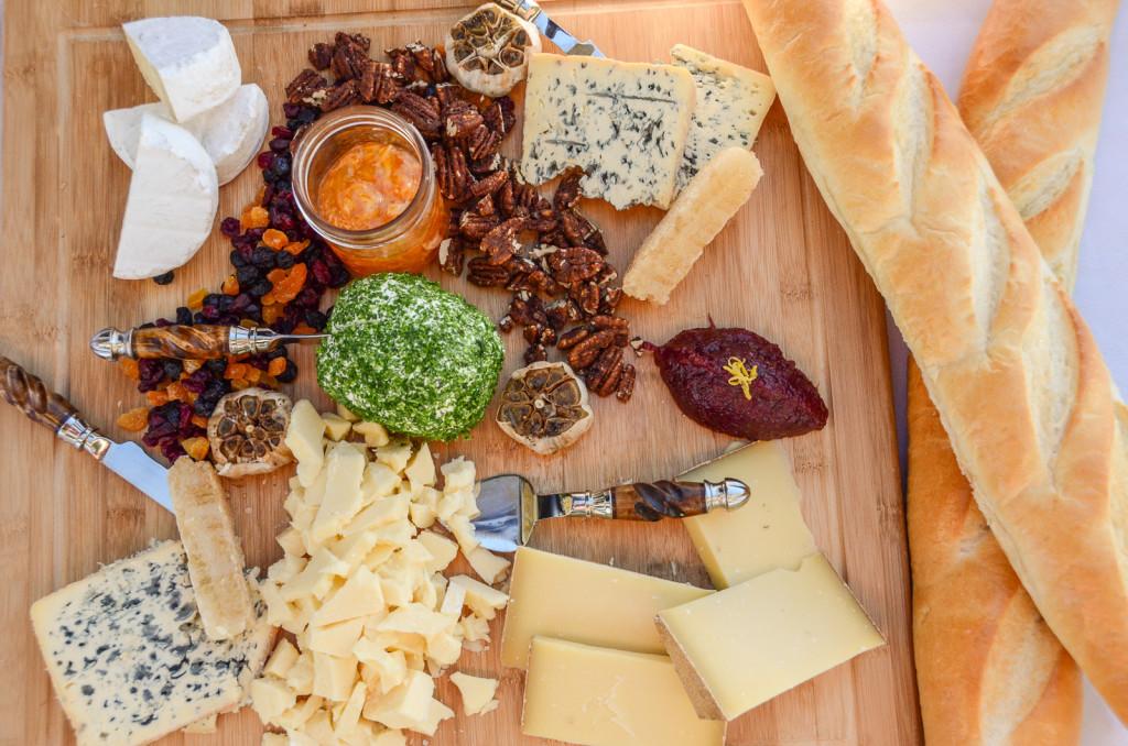 Artisan Cheese Display