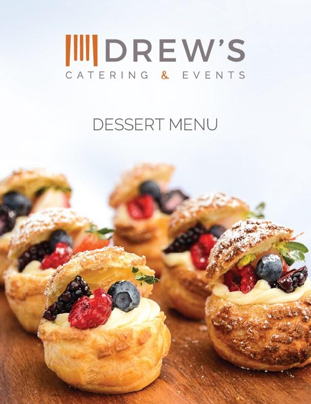 Drew's Catering Desserts