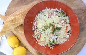 Chanterelle Stuffed Pasta
